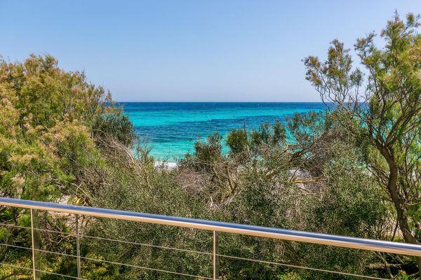 Blick zum Mittelmeer