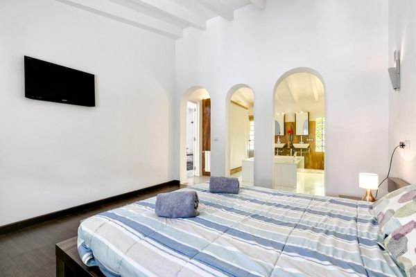 Schlafzimmer mit en-suite Bad