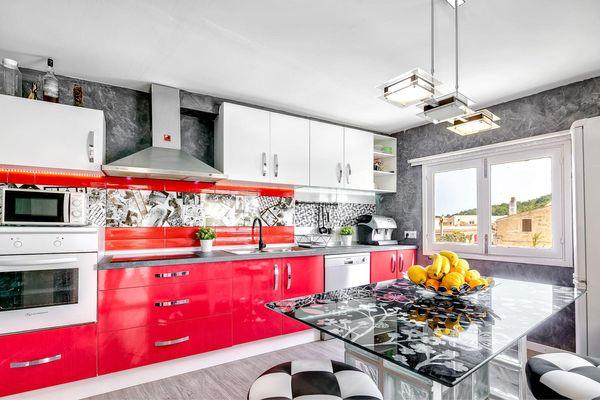 Zweite moderne Küche