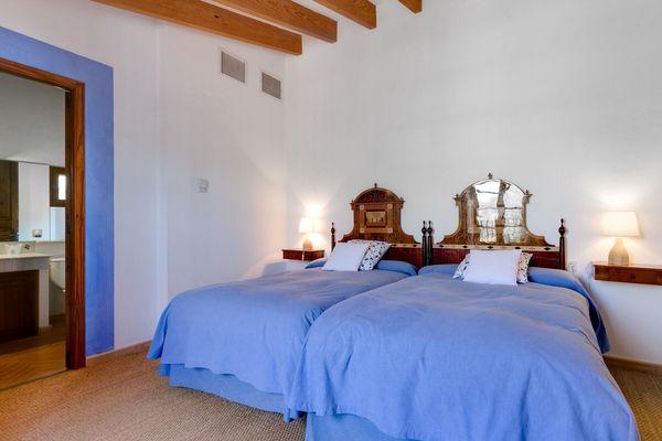 Suite 1 - Schlafzimmer mit Doppelbett