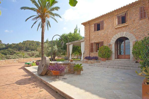 Die prunkvolle Finca in Mancor de la Vall