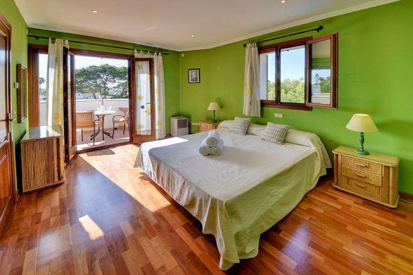 Doppelschlafzimmer mit Balkon