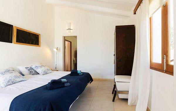 Casa Romantica - Schlafzimmer mit zwei Einzelbetten