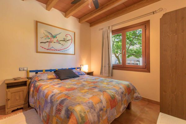 Nona - Schlafzimmer mit Doppelbett