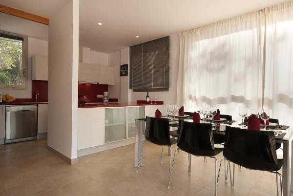 Cala Molins - Küche & Essbereich