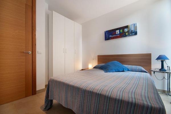 Cala Molins - Schlafzimmer mit Doppelbett