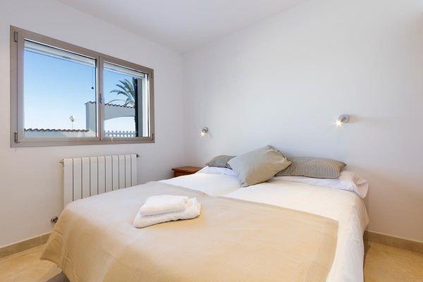 Holland - Schlafzimmer mit Doppelbett