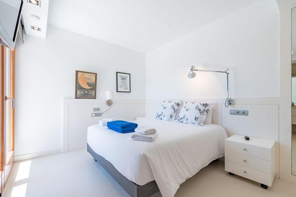 Bergantin - Schlafzimmer mit Doppelbett