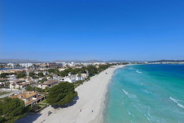 Strand Playa de Alcudia