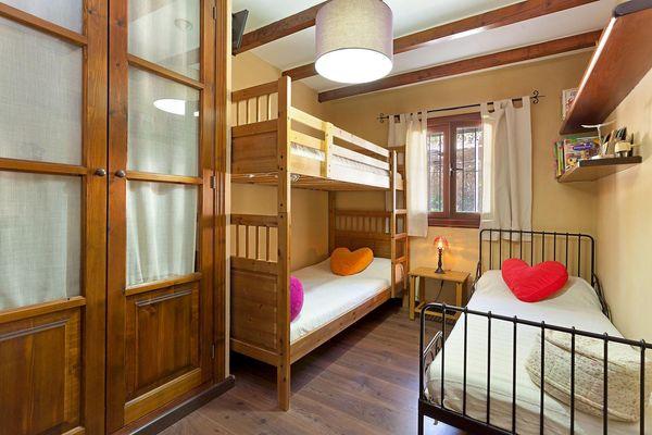 3-Bett Zimmer für Kinder