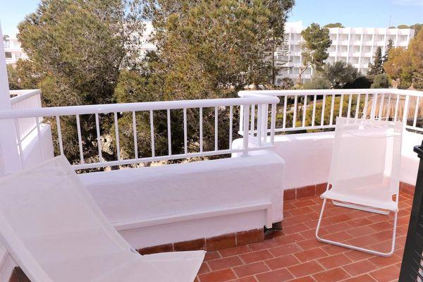 Balkon mit Blick