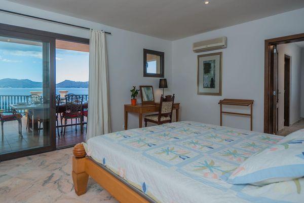 Vista Mar - Schlafzimmer mit Doppelbett