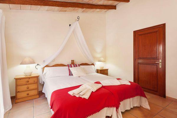 Schlafzimmer für angenehme Nachtruhe